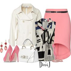 Office Look by dimij on Polyvore