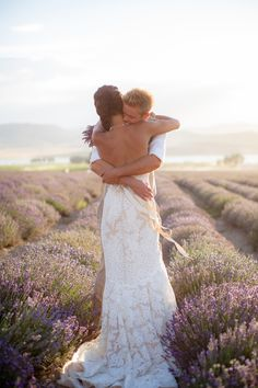 Love this Lavender Sunset Styled Shoot via @Glamour & Grace