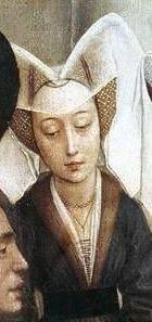 .História da Moda.: A Moda na Era Medieval – Parte 3: Anos 1350 a 1450 (Late Gothic) Adorno Coração