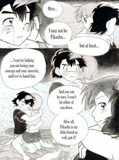 Pokemon Ash And Misty, Pokemon Ash And Serena, A Comics, Anime Comics, Ash And Dawn, Pokemon Adventures Manga, Drive Me Crazy, Doujinshi, Storytelling