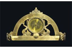 A FRENCH MILITARY GRAPHOMETER PIERRE SEVIN, PARIS, FL.1662-1685 signed to the throne P SEVIN A P