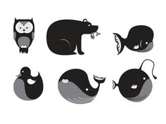 Animal Pictos by Xarly Rodriguez.