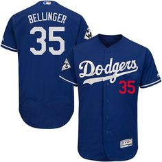 Dodgers #35 Cody Bellinger Blue Flexbase Authentic Collection 2017 World Series Bound Stitched MLB Jersey