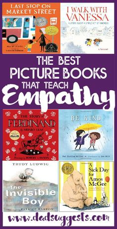 This contains an image of: {{ pinTitle }} Teaching Empathy, Teaching Kids, Social Emotional Learning, Social Skills, Read Aloud Books, Good Books, Best Toddler Books, Best History Books, Lessons For Kids