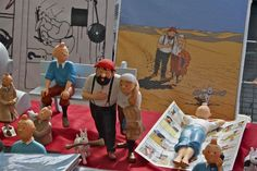 Tintin at the flea market..