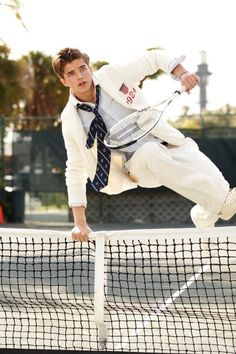 Every guy that I have ever seen play tennis always has the impulse to do this..
