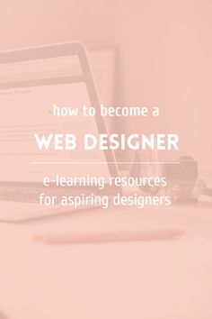 Learn web design and development ~ Elan Creative Co. - How to become a web designer: a list of sites that help you learn design and coding - Learn Web Design, Web Design Tips, Web Design Company, Blog Design, Web Design Inspiration, App Design, Creative Design, Design Basics, Design Websites