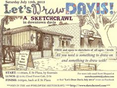 let's draw davis july 13th, 2013 | Flickr - Photo Sharing!