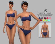 Merakisims: Burch's inspired bikini • Sims 4 Downloads