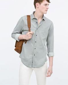 ZARA - PROMOCIJA - Printed twill shirt