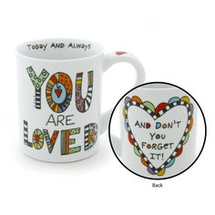 Enesco Our Name is Mud by Lorrie Veasey You are Loved Mug