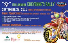 San Angelo, TX - Sept. 26, 2015: 9th Annual Cheyenne's Rally. All proceeds of this event support the Children's Miracle Network at Shannon Medical Center.