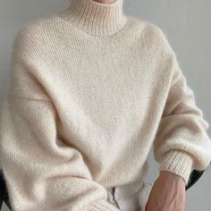 It doesn't get softer than this! Wondering how to wash or care for your most soft knits and knit sweaters? Try Soak! From @smuksakyarn on IG. Lacy Lingerie, Men Sweater, Knit Sweaters, Knitwear, Pullover, Silk, Knitting, Instagram, Clothes