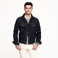 32b328e7f91d Denim jacket in dark rinse wash