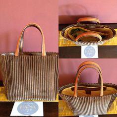 Ha-na By Atsuta Manufacture de Sacs Creations, Kate Spade, Velvet, Leather, Bag