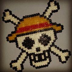 One Piece hama beads by sergioelmoreno