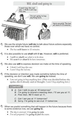 Grade 10 Grammar Lesson 10 Will, shall and going to (1)