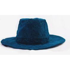 6edd08770f55 Indigo Corduroy Hat - Aesthetic Homage Corduroy