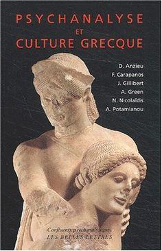 """Didier Anzieu, Psychanalyse et culture grecque. """"Dès le temps de son auto-analyse et de ses premières découvertes, Freud a emprunté les chemins de la Grèce en utilisant les mythes d'Œdipe, puis de Narcisse, pour qualifier les concepts théoriques et pratiques fondamentaux de la psychanalyse."""" http://www.lesbelleslettres.com/livre/?GCOI=22510100773510#"""