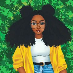 Black Girl Cartoon pictures) ⭐ Pictures for any occasion! Black Love Art, Black Girl Art, Art Girl, Natural Hair Art, Natural Hair Styles, Drawings Of Black Girls, Ladybug And Cat Noir, Black Girl Cartoon, Black Art Pictures