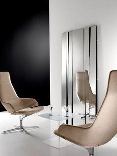 Milan Furniture, Glass Furniture, Furniture Design, Livingstone, Contemporary Furniture, Contemporary Design, Contemporary Mirrors, Modern Floor Mirrors, Mirror Panels