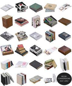 Livros para decoração