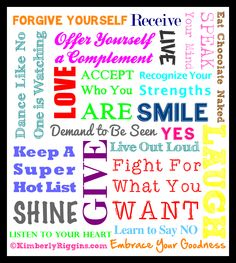 Self-Love Manifesto...It's time to honor who YOU are.