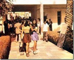 University in Kabul, Afghanistan, 1972