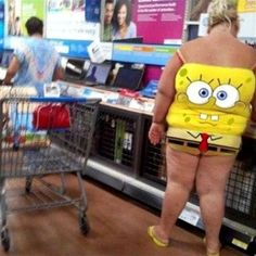 Spongebob Squarepants Tank Top - Stay Classy People of Walmart - Funny Pictures at Walmart