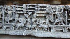 Temples of Hoysalas : Photos of Hoysaleswara temple Halebidu