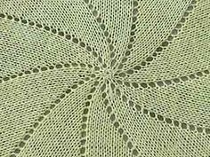 pinterest knit circular baby blankets | have made several of these pinwheel blankets. they are fun, fast and ...