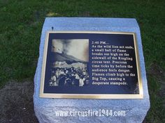 Memorials - The Hartford Circus Fire ~ July 6, 1944
