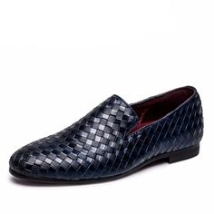 Italian Leather Oxfords Moccasins For Men