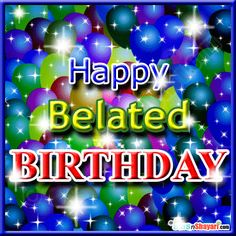 Belated Birthday Images, Pictures