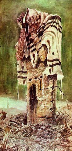 "Shoah - The Holocaust ~ ""A Prayer of the Killed"" by Bronislaw Linke"