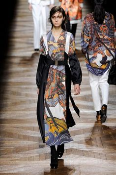 """Destruction"" of the Kimono!  Oriental Fashion on Fall '12 Runways"