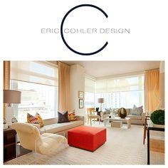 Eric Cohler Design - Living Room #InteriorDesign #style #EricCohler #ECD #design #space #livingroom