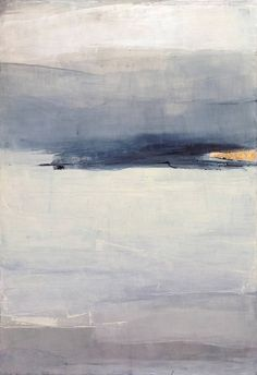 "Saatchi Art Artist Sabrina Garrasi; Painting, ""Silent Sands / Abstract Landscape - Large Original Painting"" #art"