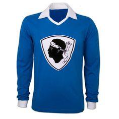 SEC Bastia football shirt 1977/1978