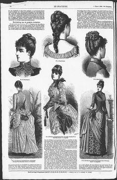 Gracieuse. Geïllustreerde Aglaja, 1886, aflevering 10, pagina 80