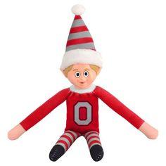 Ohio State Buckeyes Plush Elf #OhioStateBuckeyes