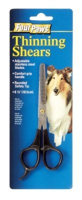"Brand New, FOUR PAWS PRODUCTS – THINNING SHEARS (6-1/2″"") (DOG PRODUCTS – DOG GROOMING – TOOLS) « dogsiteworld.com"