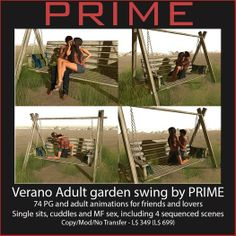 Verano Adult Garden swing by PRIME