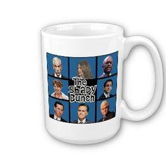 GOP - The Shady Bunch - Paul Romney Palin Bachmann Coffee Mugs
