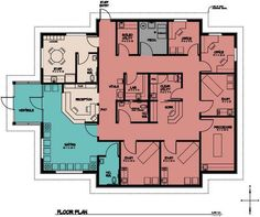 Simple floor plans on free office layout software with office ideas physical therapy floor plan malvernweather Images