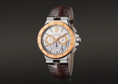 BVLGARI is famous for its glamorous gemstone jewelry, luxury watches, perfumes and leather goods. Bvlgari Logo, Bvlgari Watches, Bvlgari Vip, Luxury Watches, Cool Watches, Watches For Men, Men's Watches, Patek Philippe, Breitling