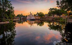 Magic Kingdom at dawn