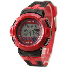 >> Click to Buy << DW429A New Red Band Red Watchcase Chronograph Date Alarm BackLight Digital Watch #Affiliate
