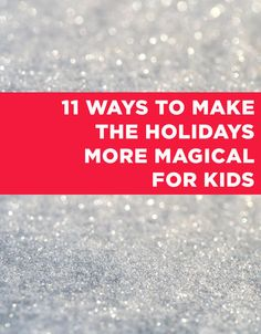 Bring magic to your home for the holidays with this!