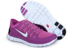 competitive price db927 5afa3 Womens Purple White Fiberglass Nike Free 5.0 Running Shoes  Womens  Fashion  for  summers